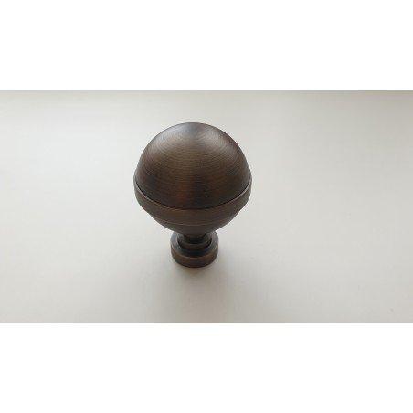 Antikinės Bronzos 25mm Kula antgalis